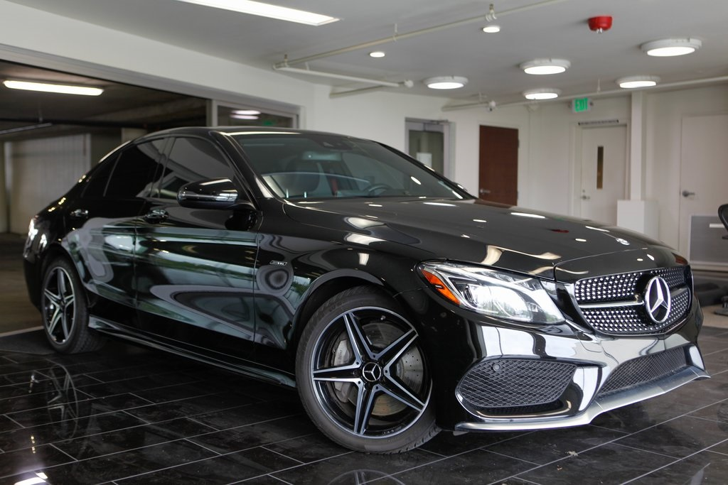 Mercedes Of Bellevue >> Pre Owned 2016 Mercedes Benz C Class C 450 Amg