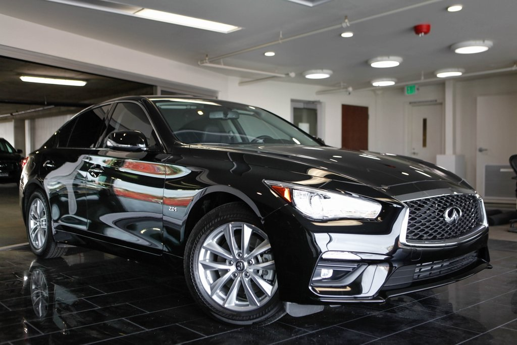 Certified Pre-Owned 2019 INFINITI Q50 PURE AWD