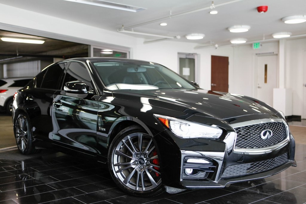 Certified Pre Owned 2017 Infiniti Q50 Red Sport 400