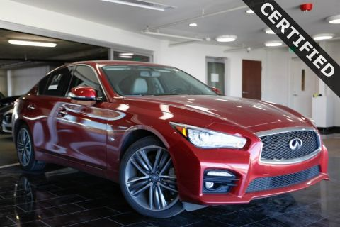 Certified Pre-Owned 2015 INFINITI Q50 Sport